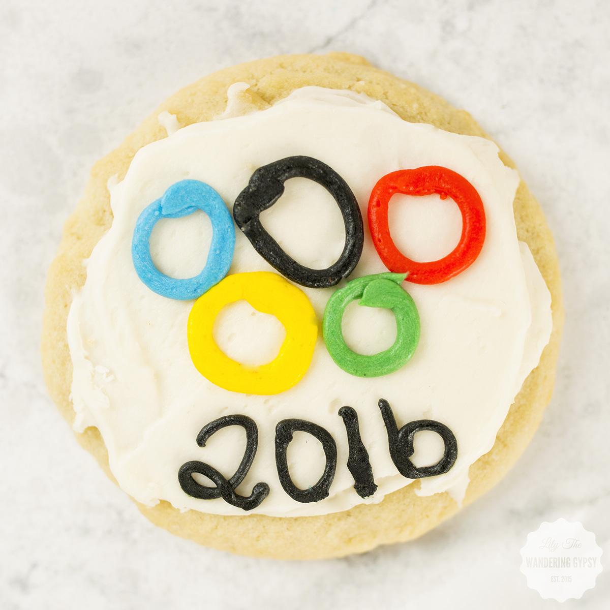 olympics cookie