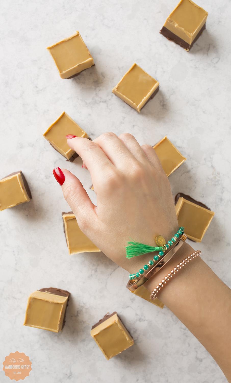Peanut Butter Fudge + Gideon John Bracelets