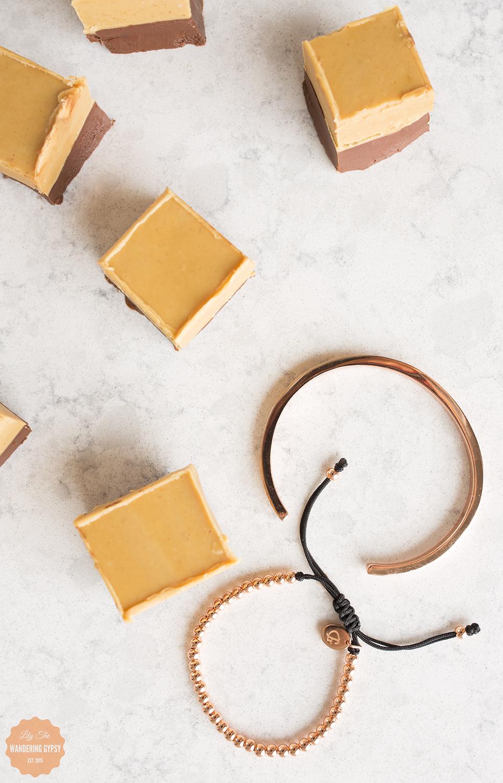 Peanut Butter + Chocolate Fudge Recipe