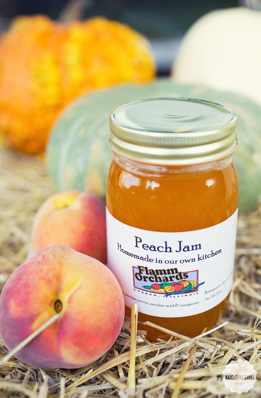 Peach Jam - Flamm Orchard - Cobden. IL
