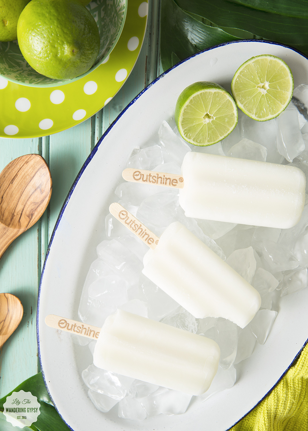 Outshine Fruit Bars in Lime