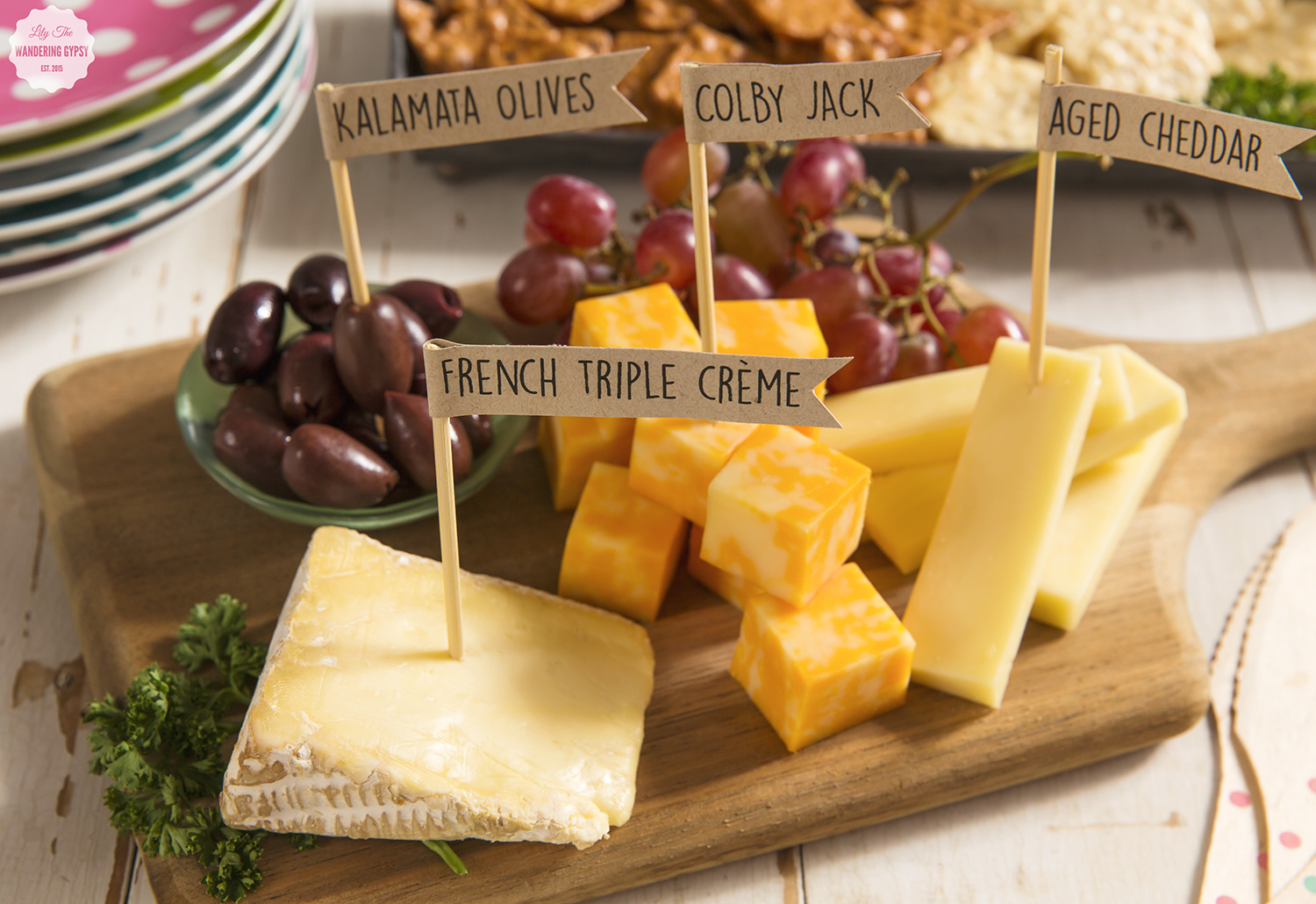 DIY Cheese Markers