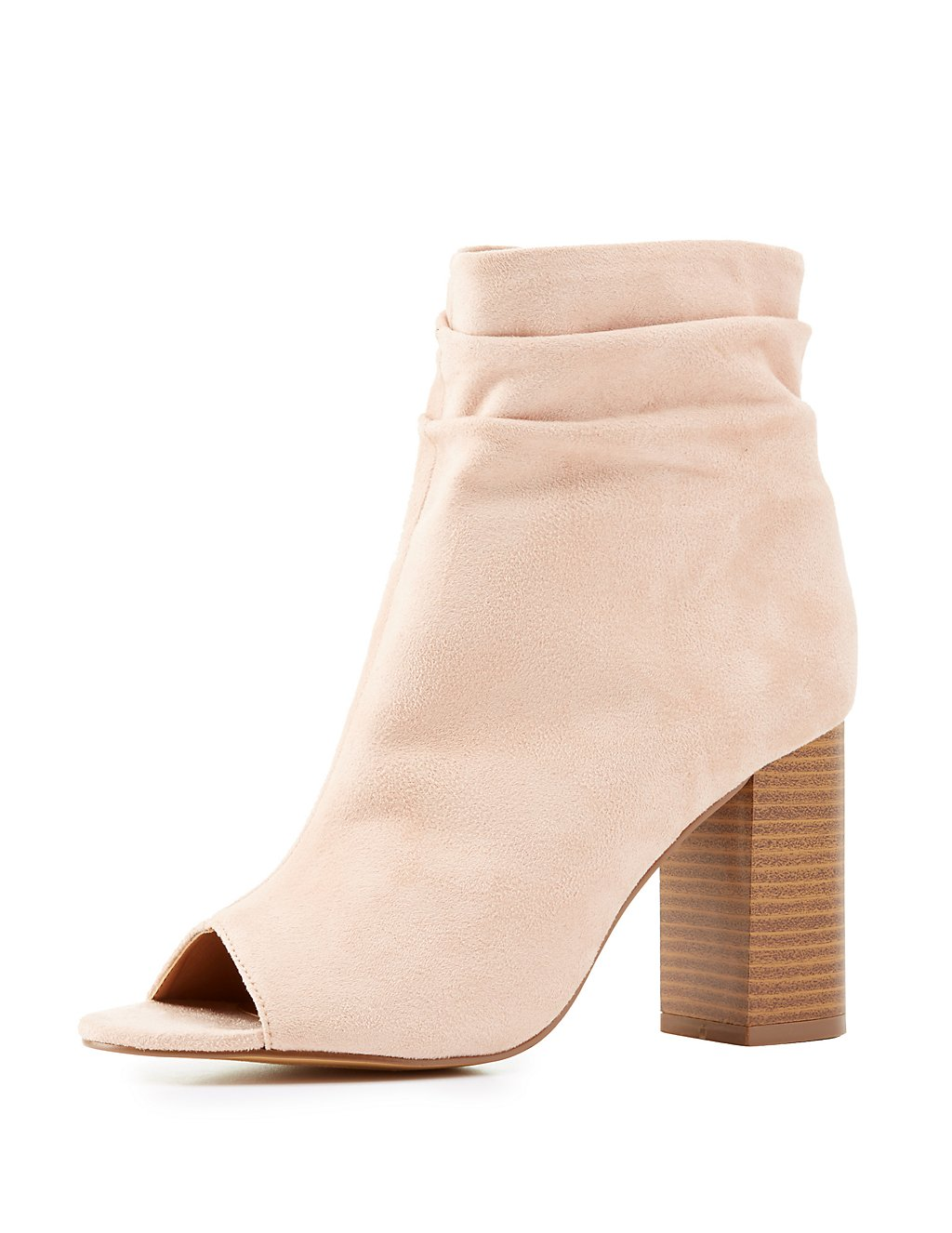 Pale Pink Booties