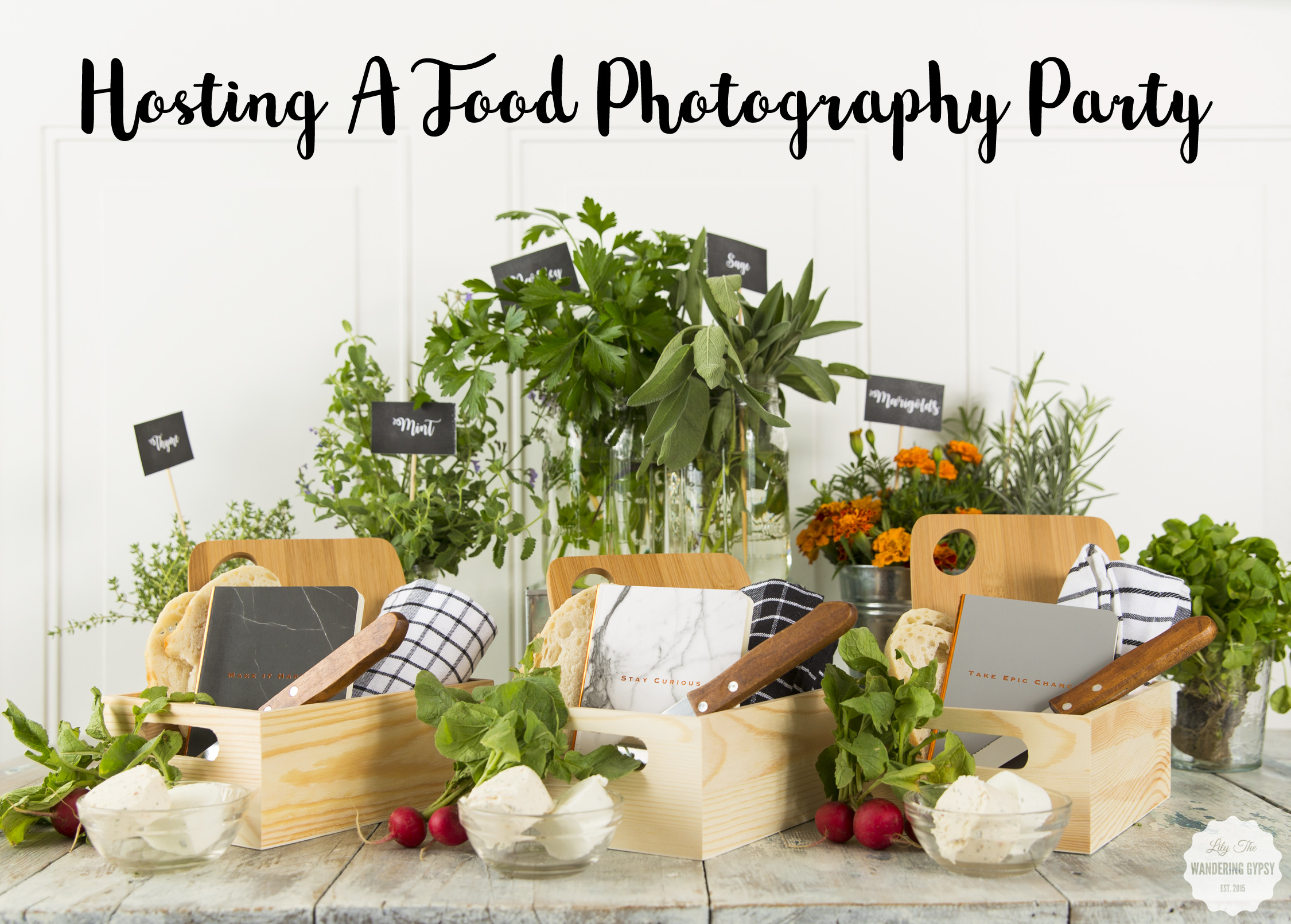 #WhatInconvenience - Hosting A Food Photography Party