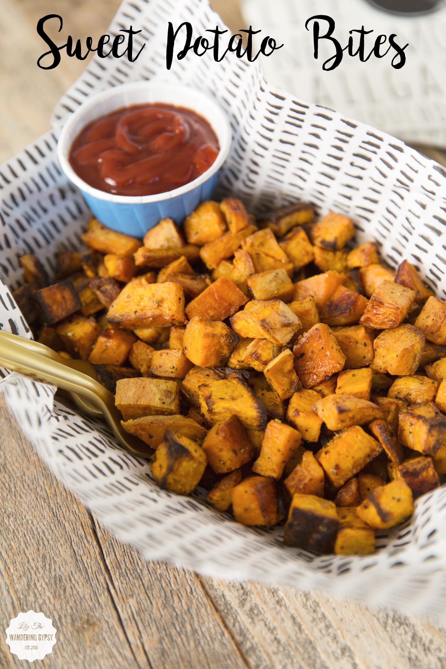 Sweet Potato Bites - these are SO good!