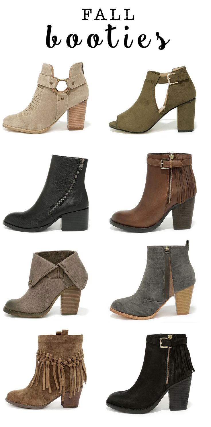 Fall Booties By Lulu's
