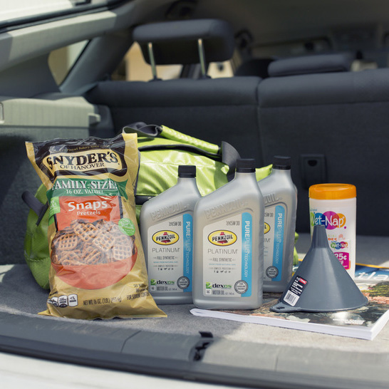 ROAD TRIP TIPS WITH PENNZOIL