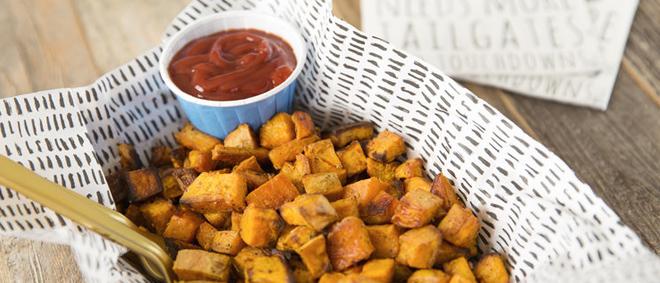 Quick + Easy Sweet Potato Bites!