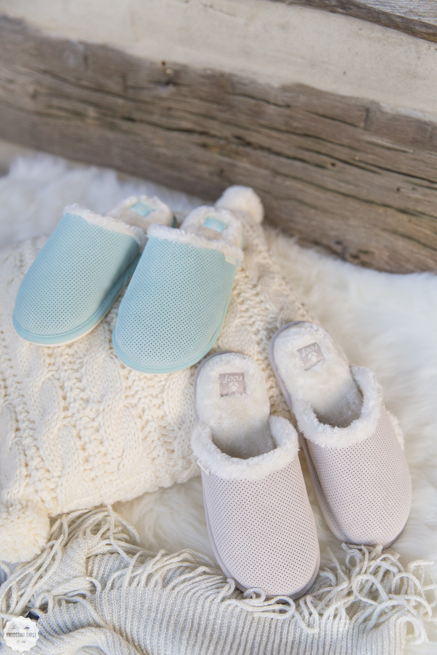 Cozy Slippers by Reef.com ~ Lily The Wandering Gypsy