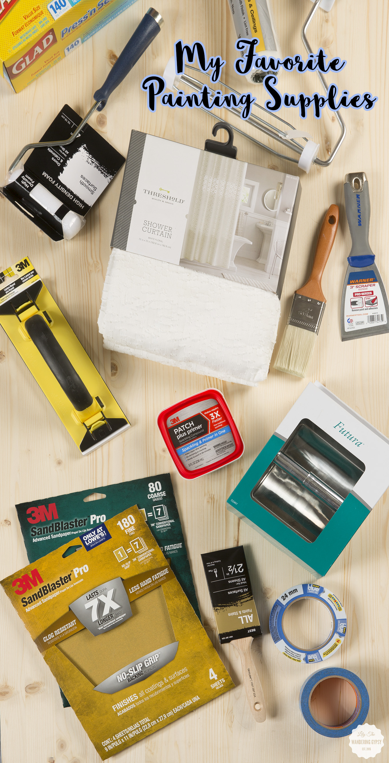 best painting supplies