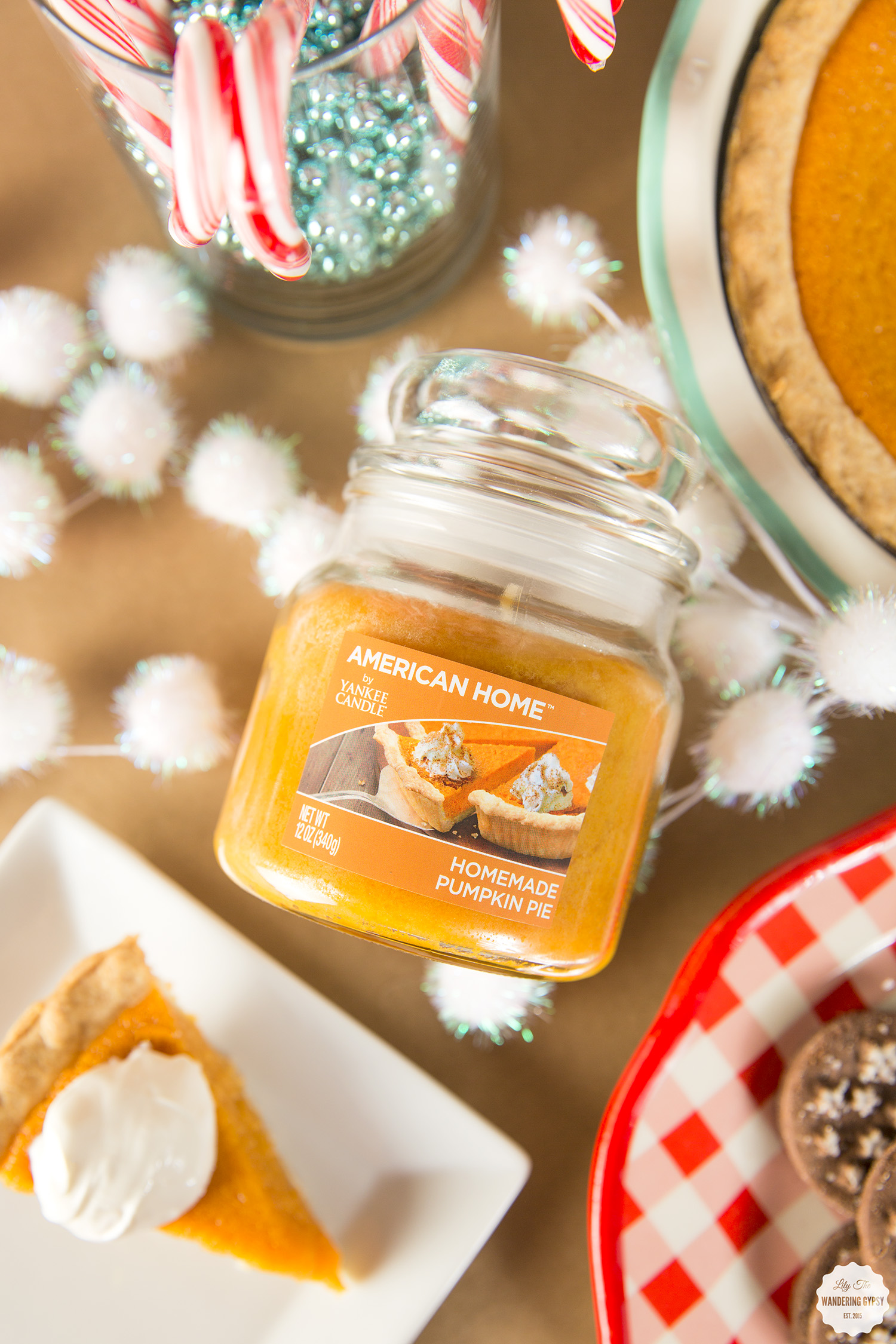 #LoveAmericanHome - Holiday Candles + Party Ideas