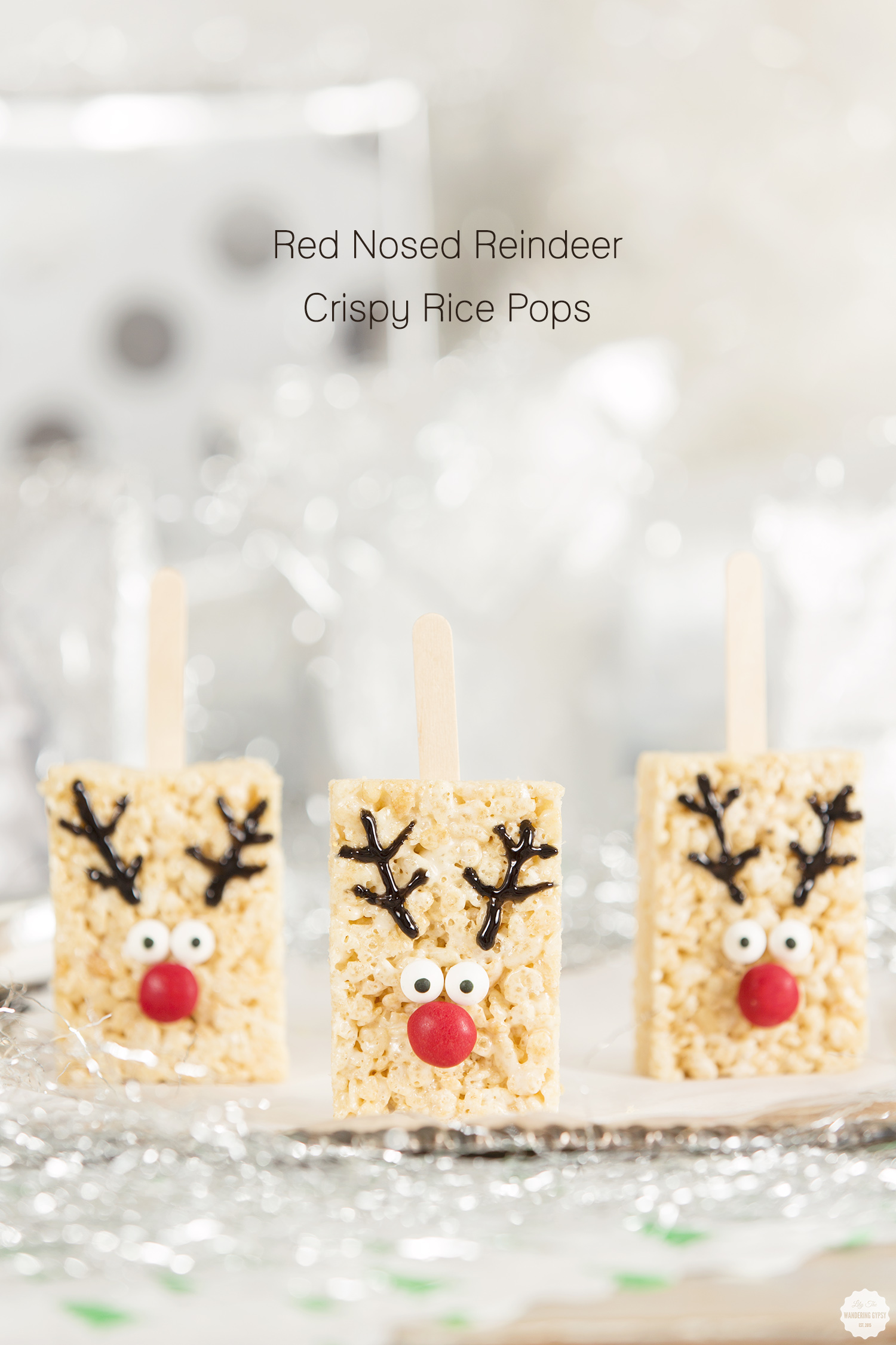 Rice Cereal Reindeer Treats Recipe