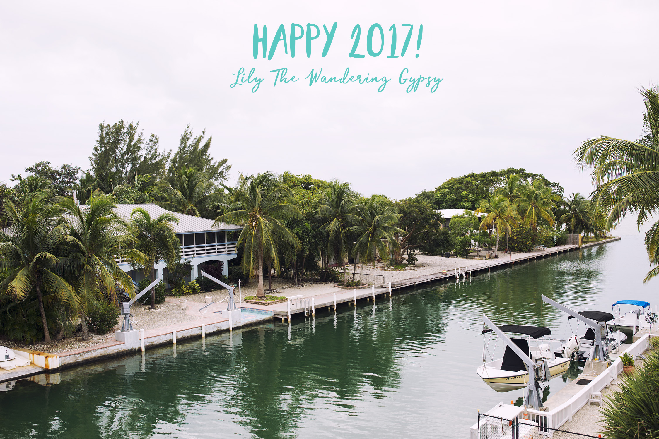 Happy 2017 From The Florida Keys!