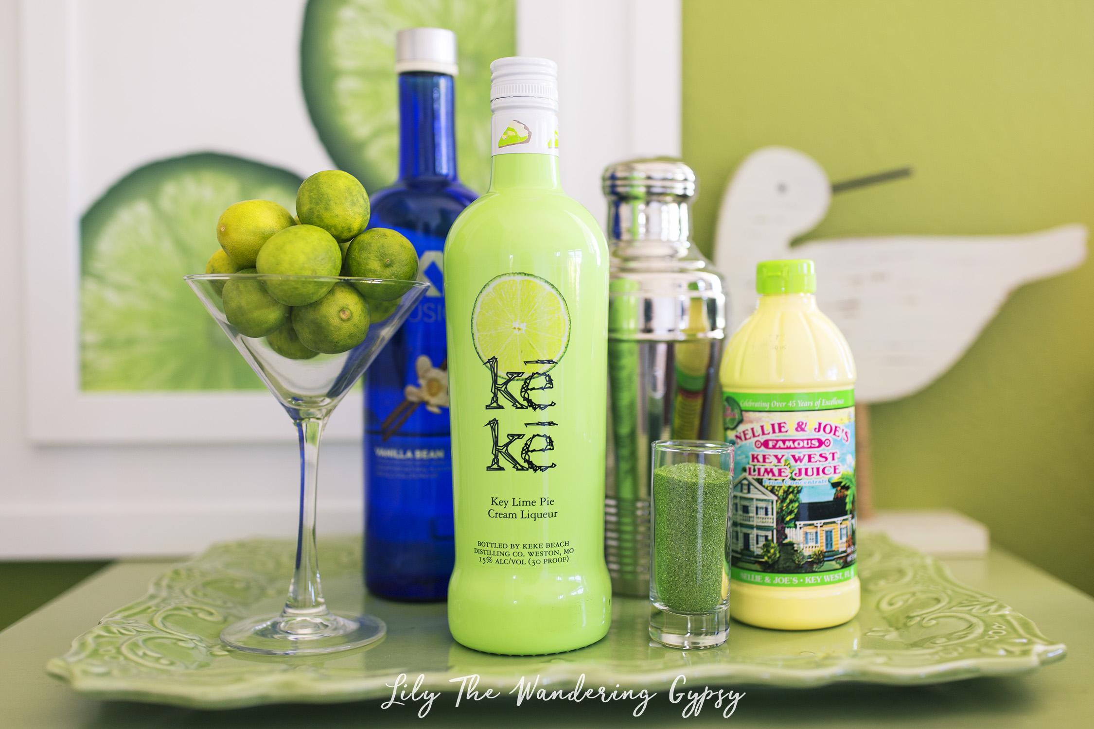 Key Lime Pie Martini Drink Recipe
