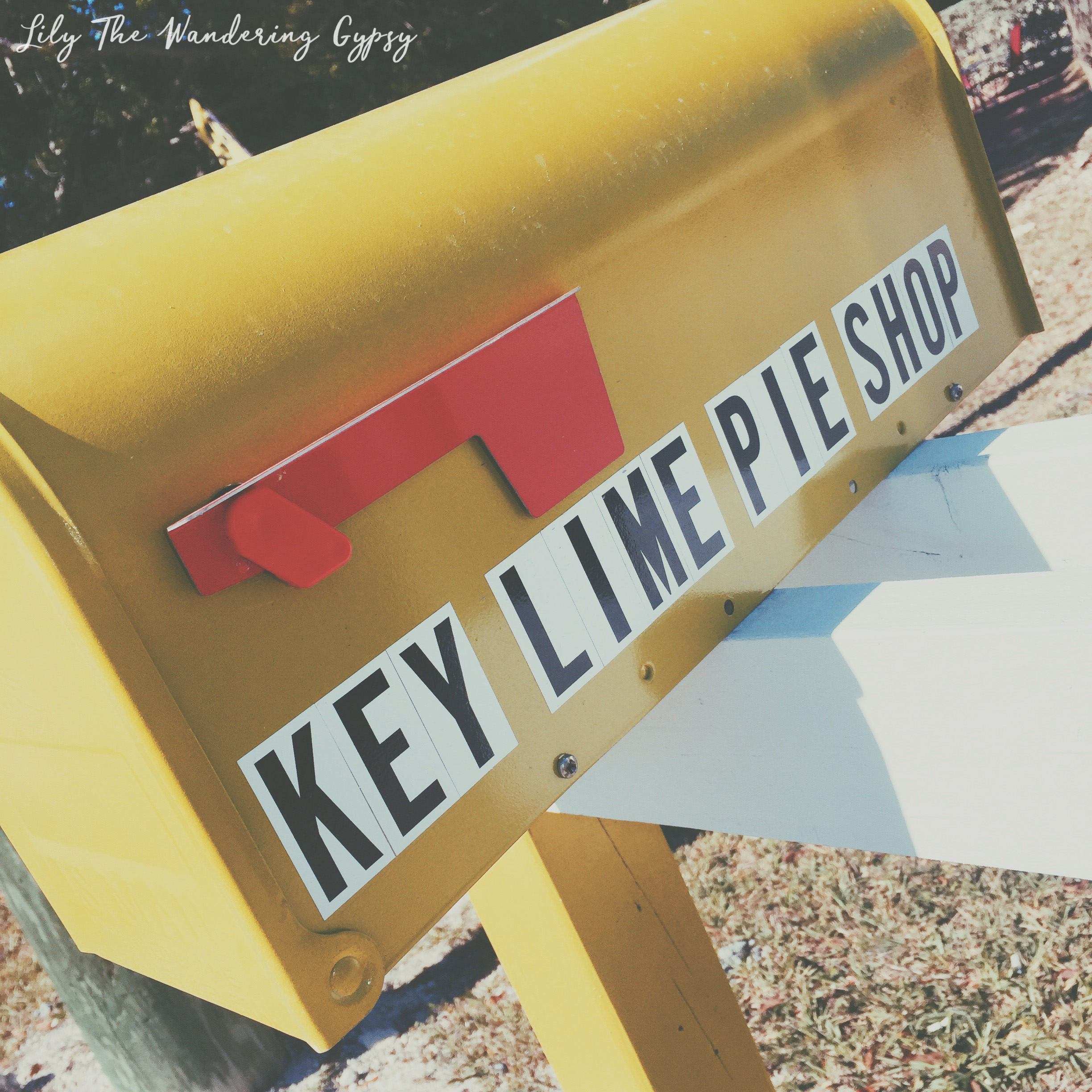 Cute Mailbox at Sugarloaf Food Company / The Key Lime Pie Shop