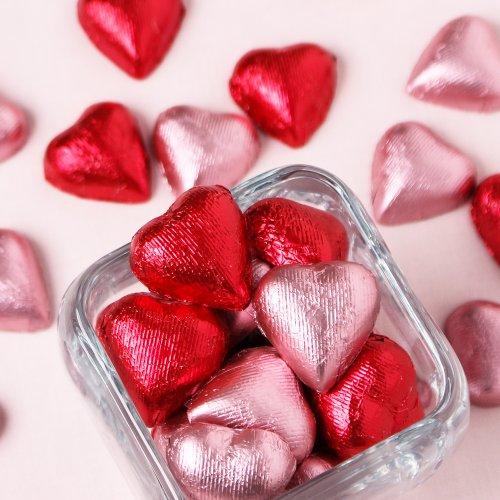 Valentine's Day Heart Chocolates