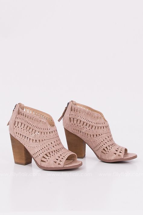 Groove Thang Booties $47