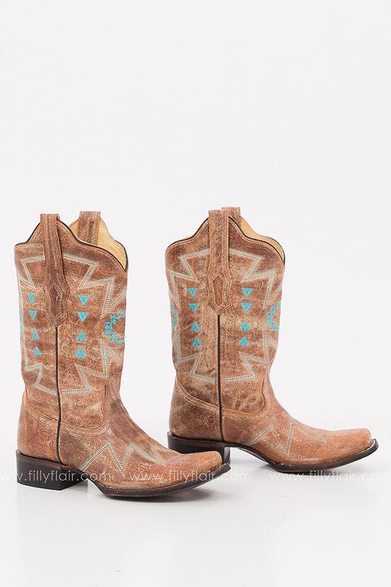 Corral Western Booties $120