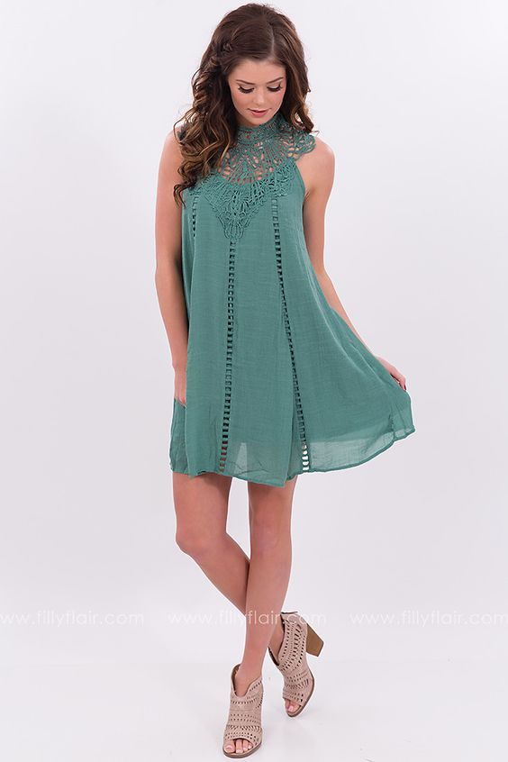 Acapulco Dress With Crochet Details