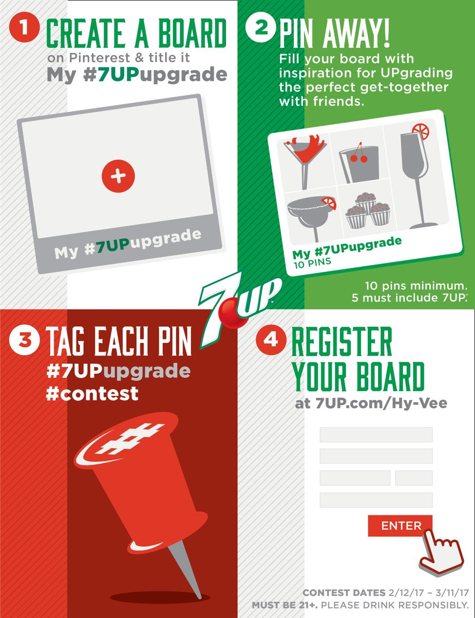 7UP Pinterest Contest!