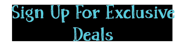 Sign Up For Exclusive Deals #ShamrockSeason