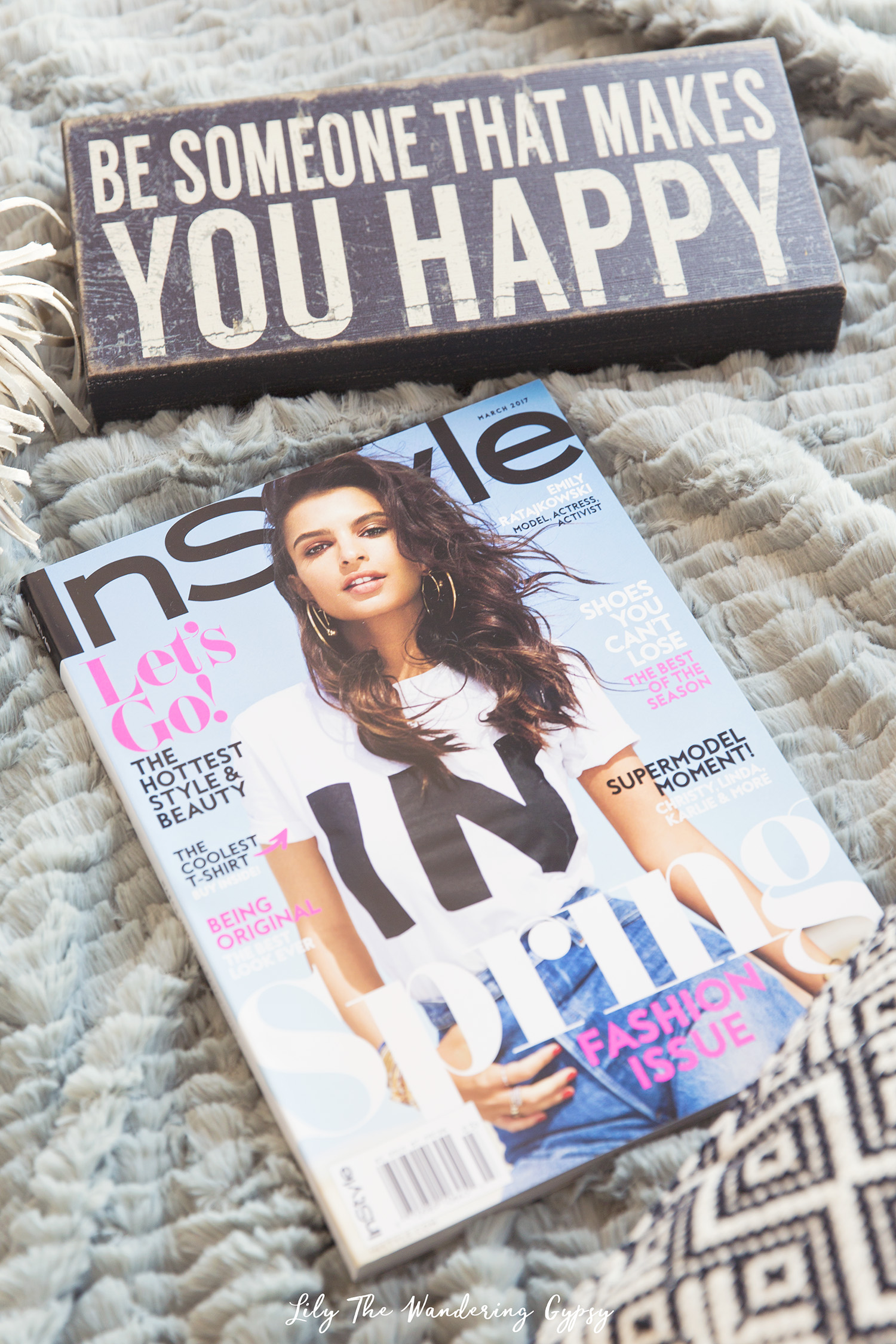 Enjoying some Me-Time with InStyle® Magazine