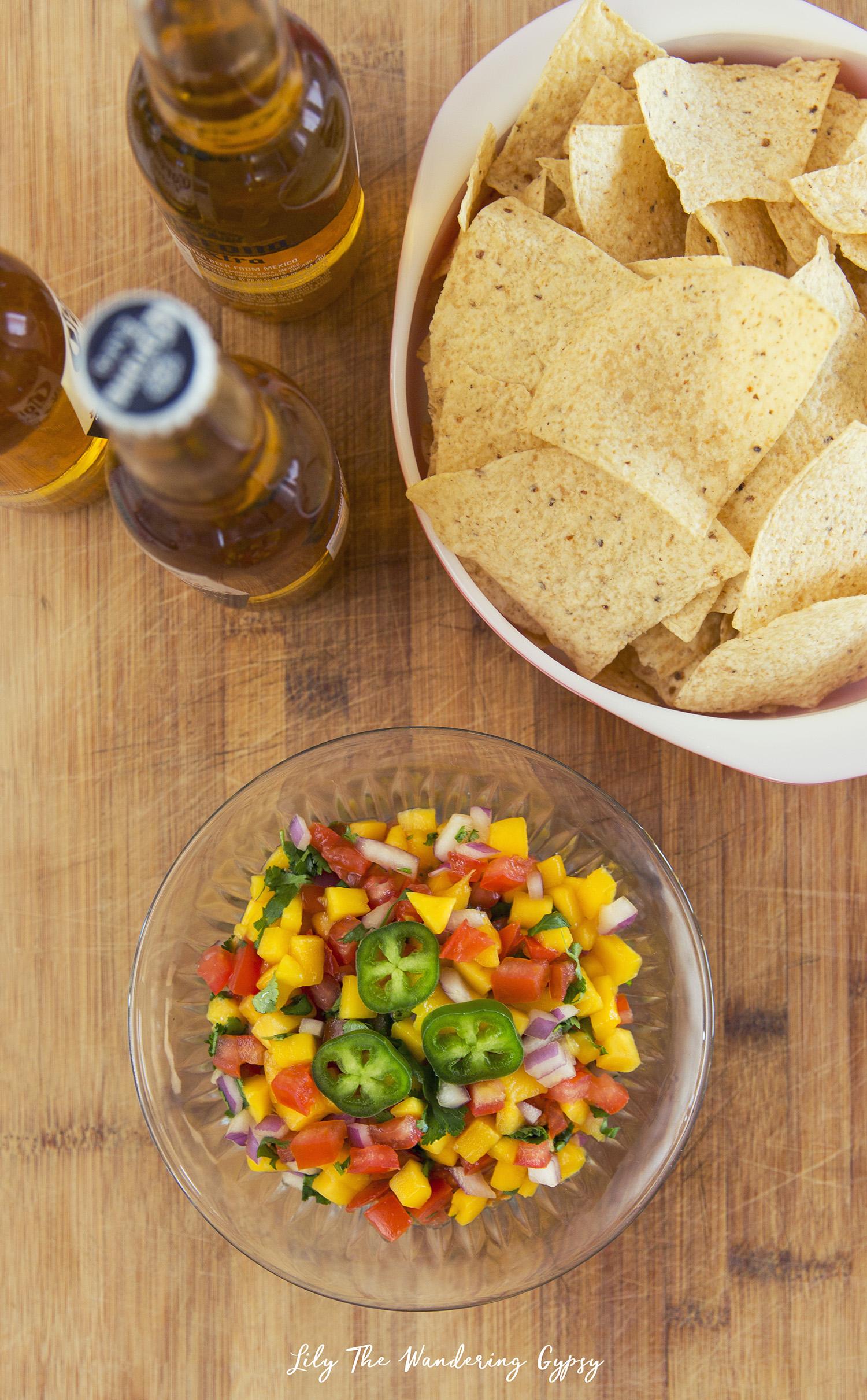 Mango Salsa Recipe by Lily The Wandering Gypsy