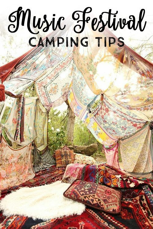Music Festival Camping Tips