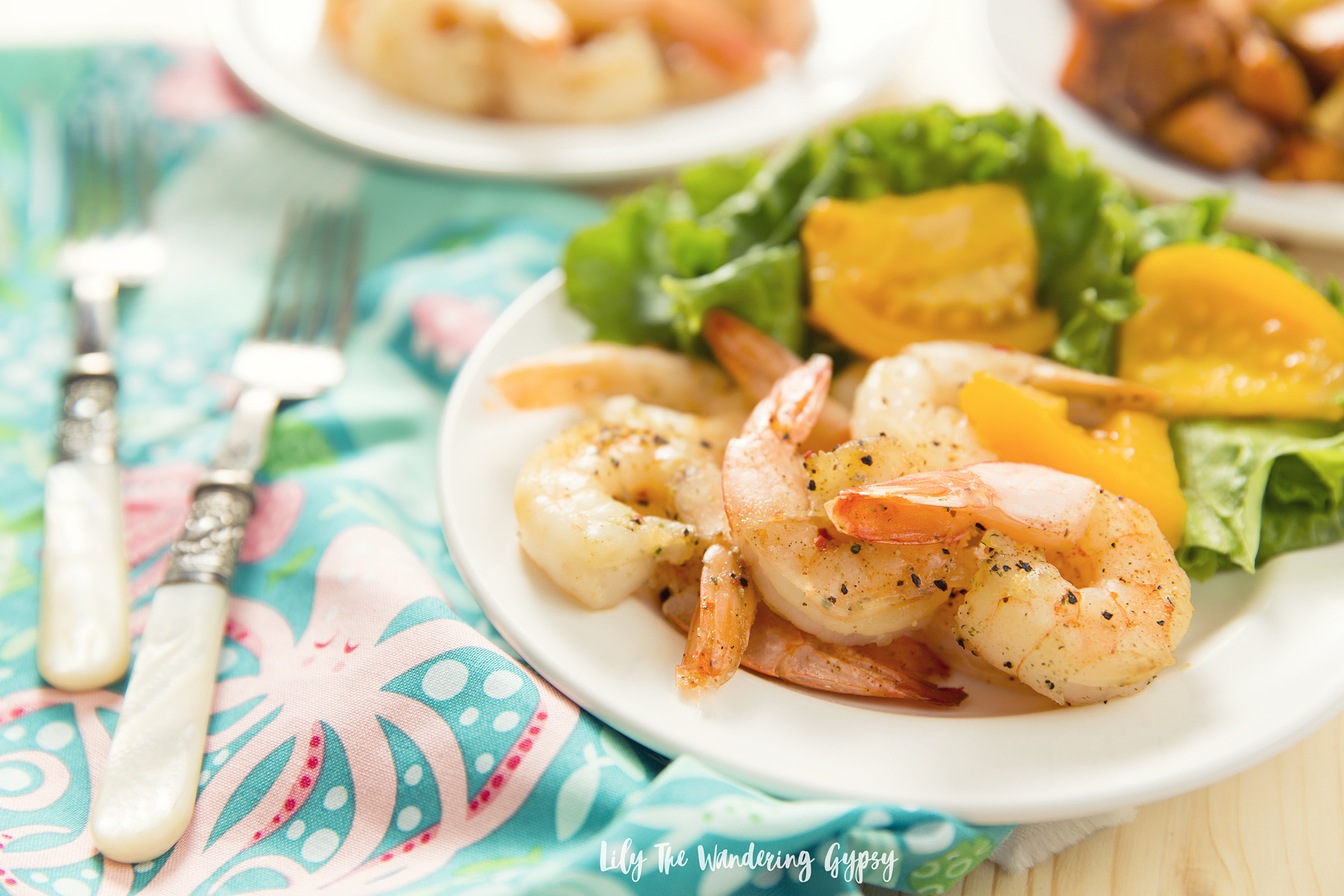 Delicious Shrimp and Sweet Potaties
