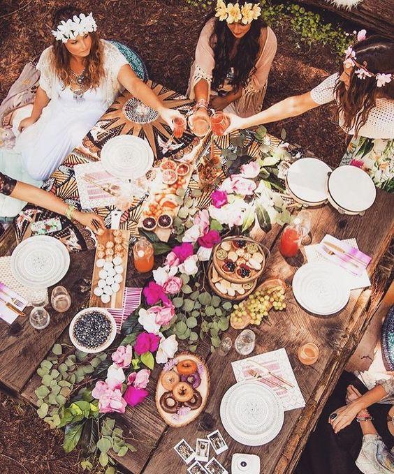 Boho Party or Wedding
