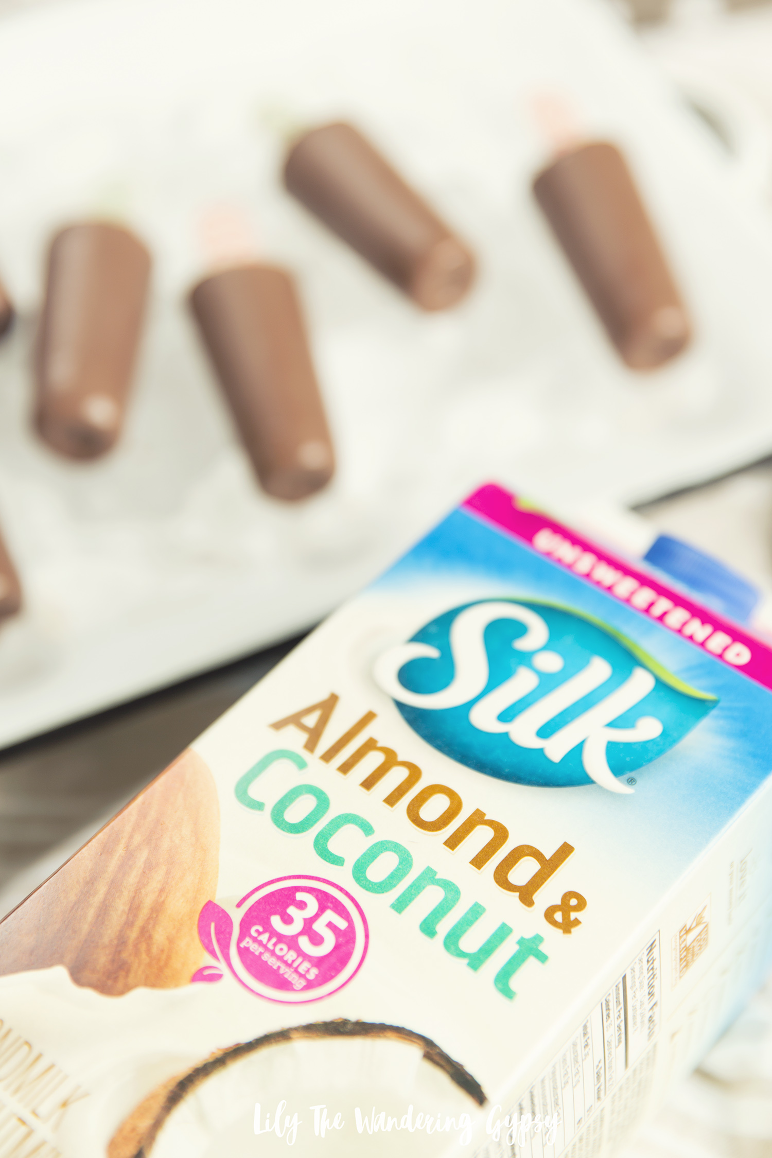 Dairy Free Chocolate Almond Coconut Popsicle Recipe