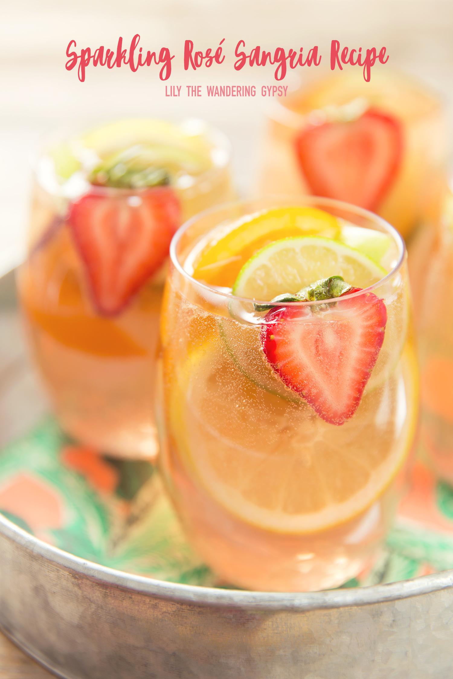 Sparkling Rosé Sangria Recipe