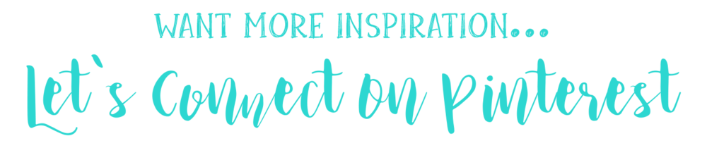Let's Connect On Pinterest!