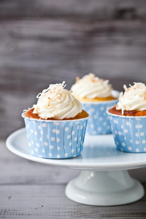 Honeysuckle and Jasmine Cupcakes