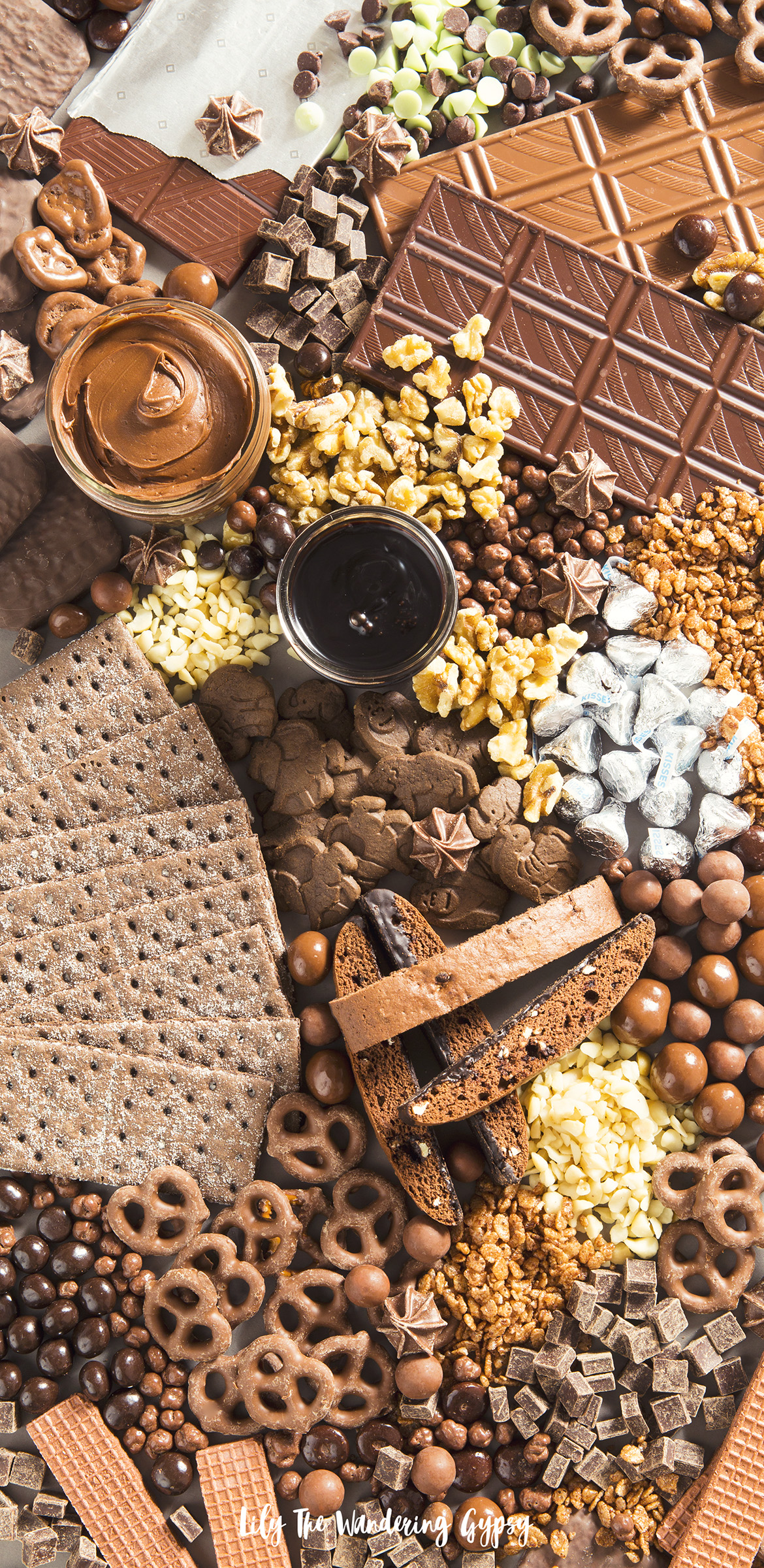 The Ultimate Chocolate Charcuterie Board