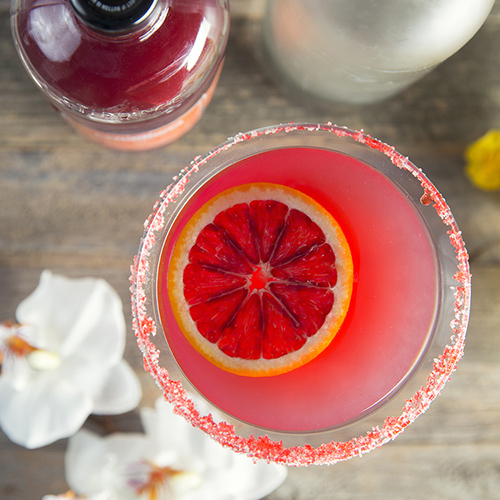 Blood Orange Martini -  Get The Recipe