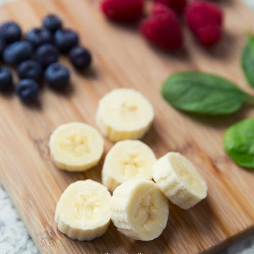 Mixed Berry & Banana Smoothie - Get The Recipe