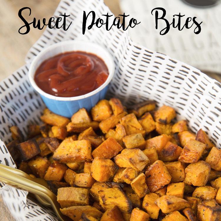 Sweet Potato Bites - Get The Recipe