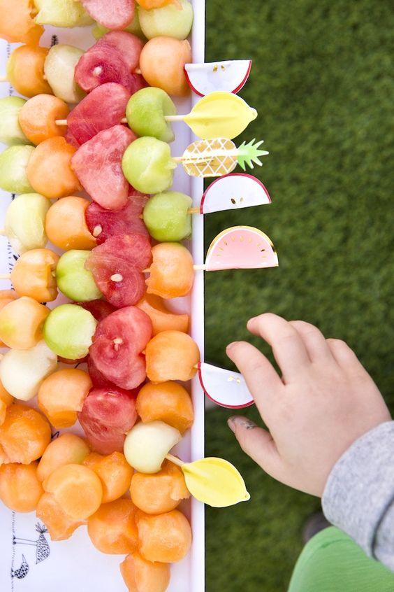 Cute Fruit Skewers!