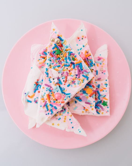 Confetti Bark Candy