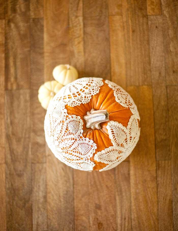 DIY Decorated Pumpkin