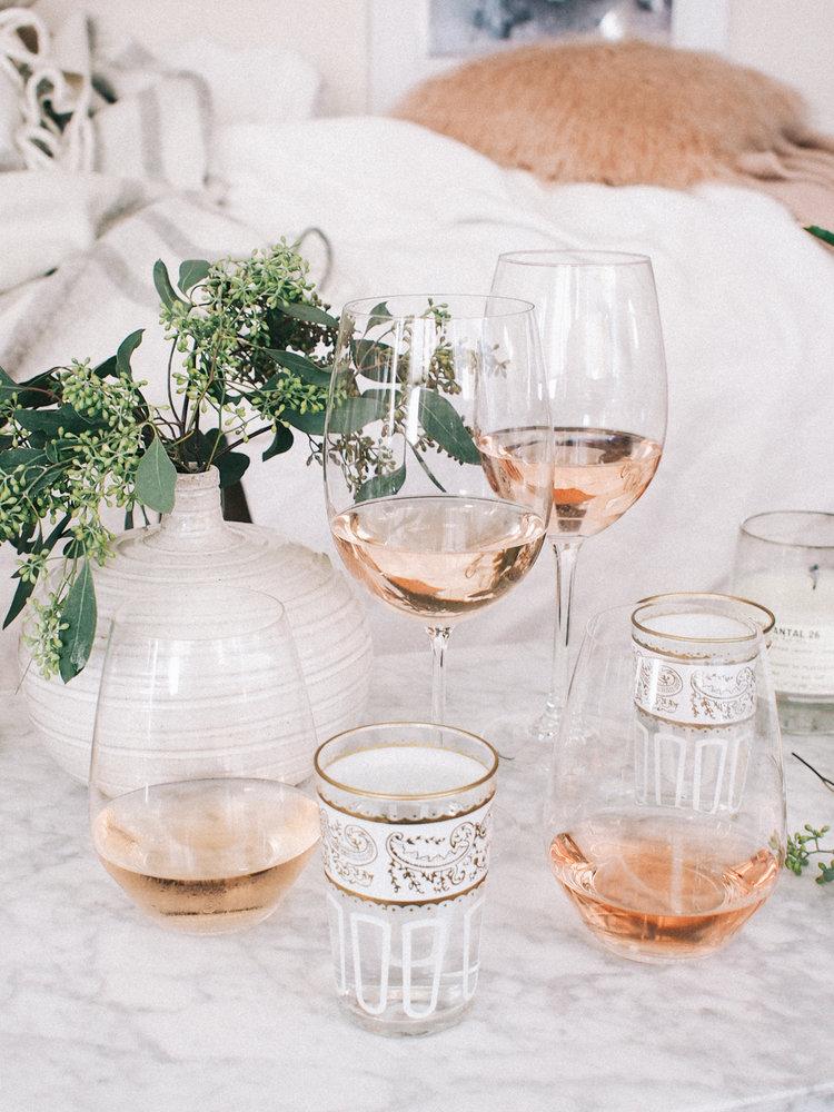 Rose Wine Tasting Party