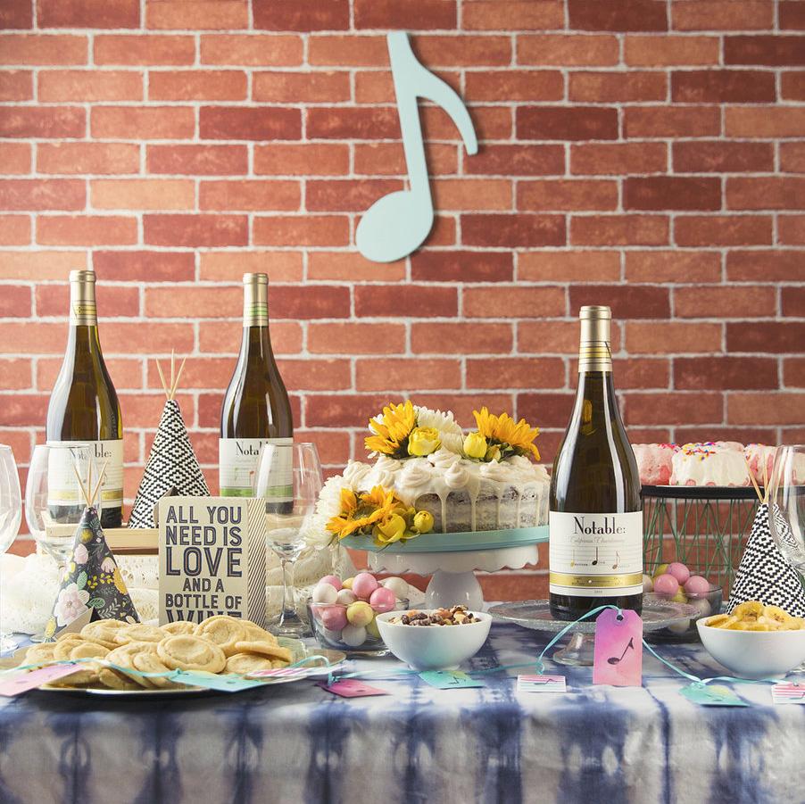 Boho Wine Tasting Party