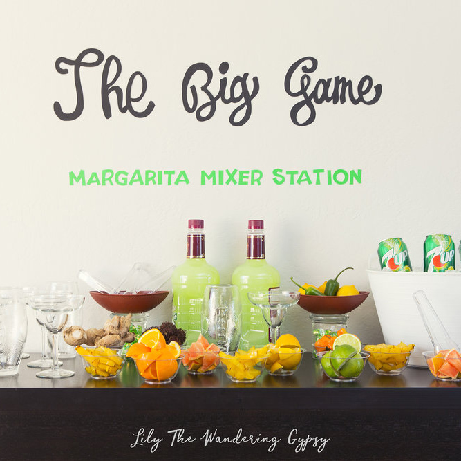 Game Day Mixer Station
