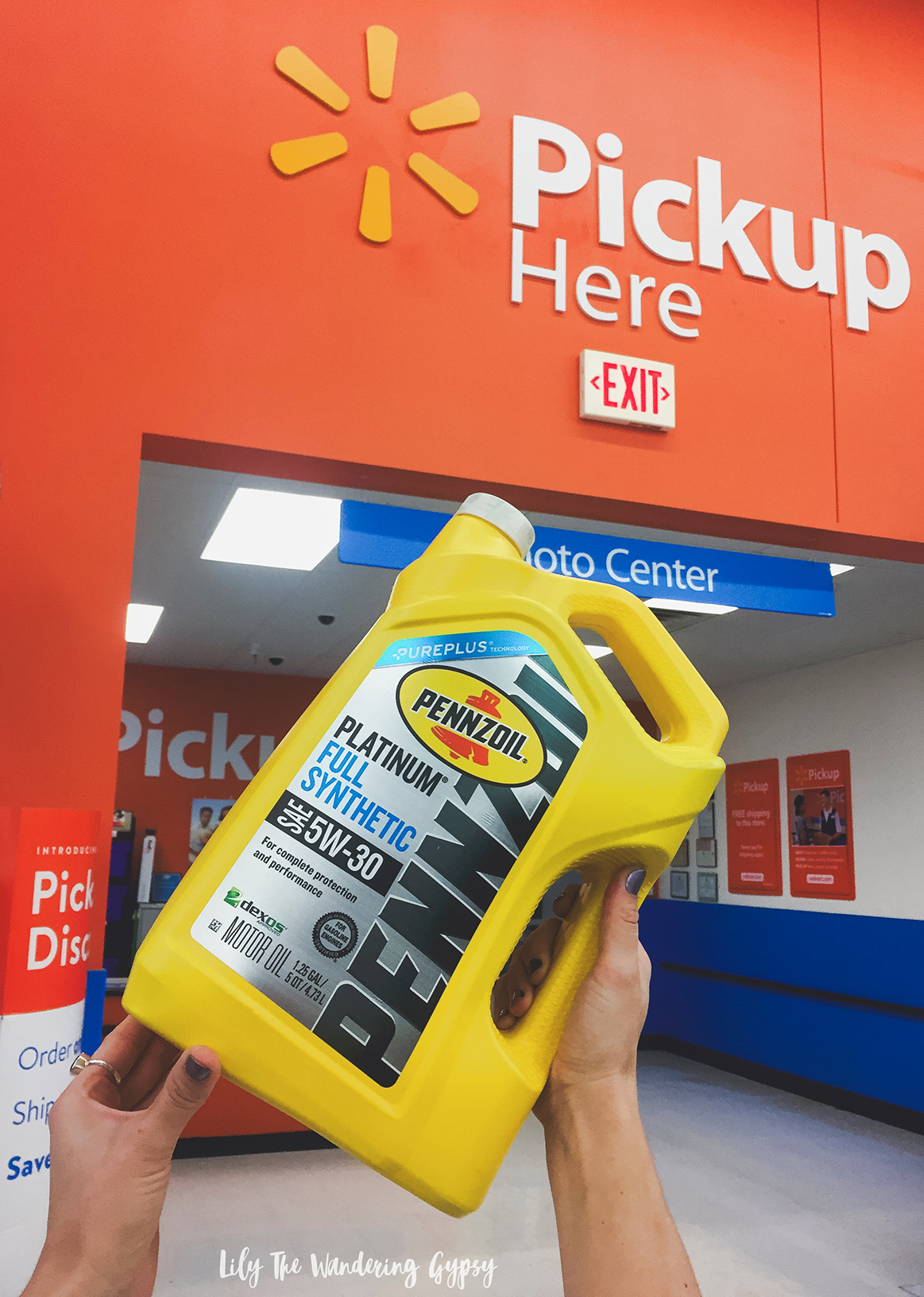 Online Pickup at Walmart