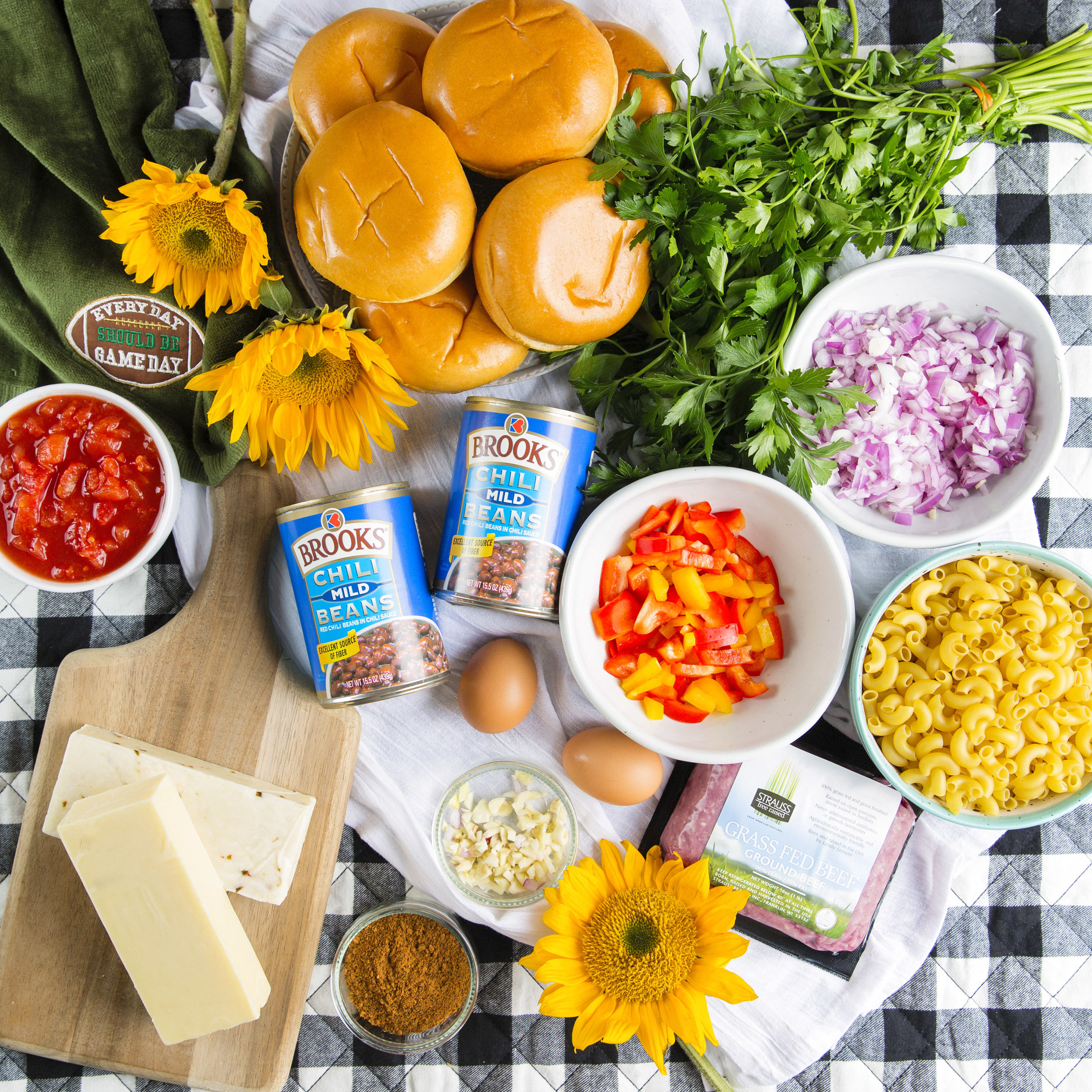 ingredients flatlay