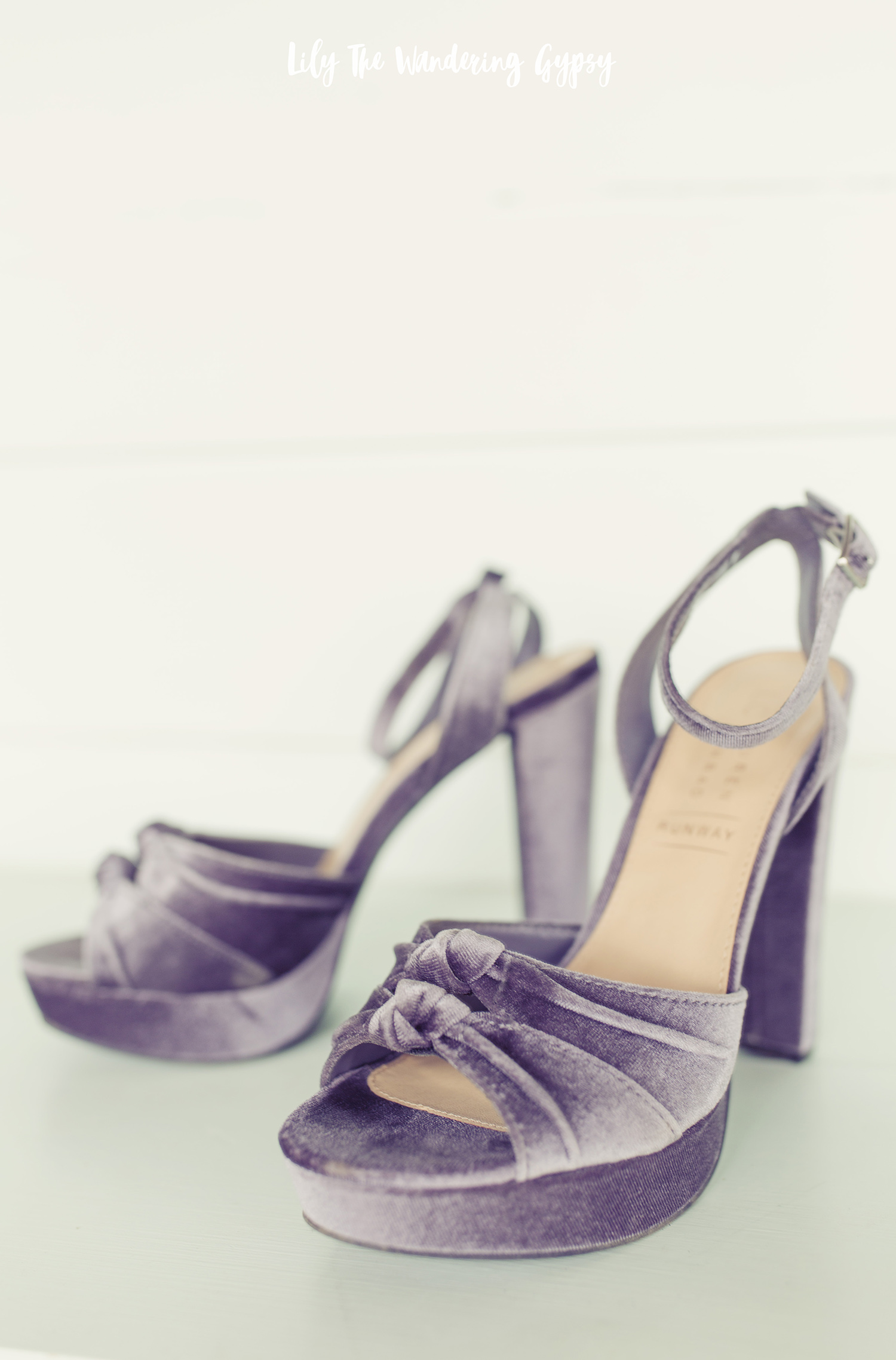 Cute Velvet Heels by Lauren Conrad