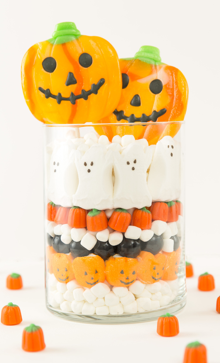 Halloween Candy Centerpiece