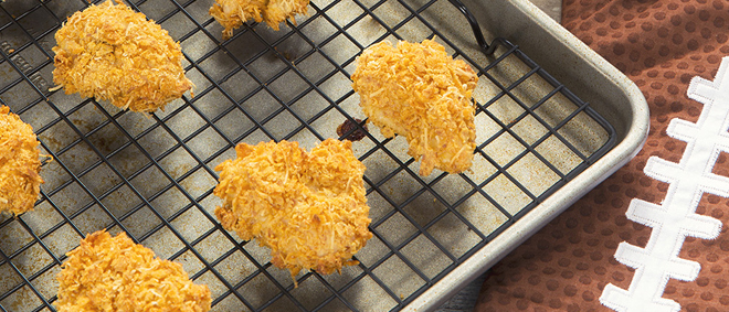 Sun Chips Encrusted Popcorn Chicken