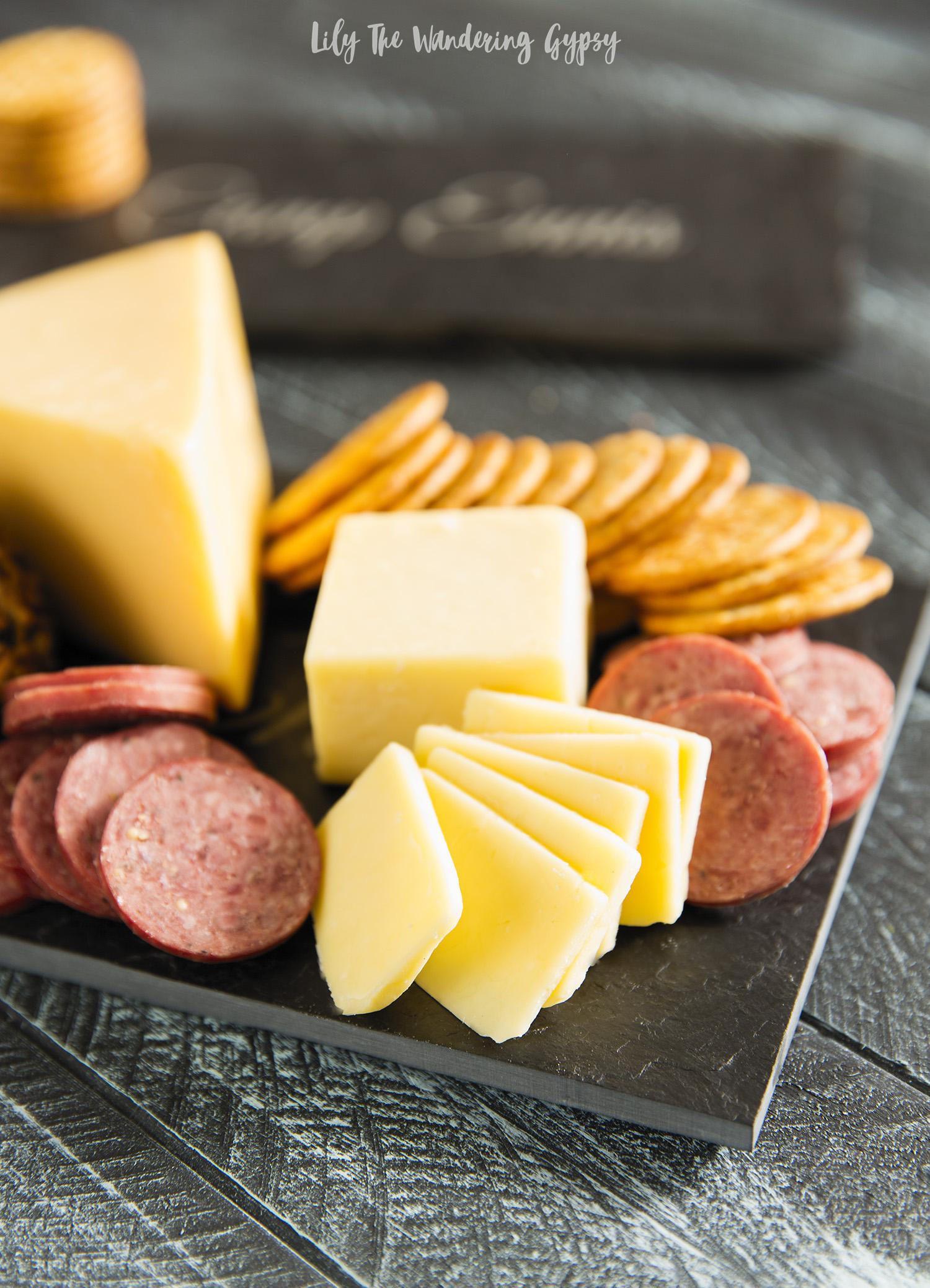 Custom State Outline Slate Cheese Board